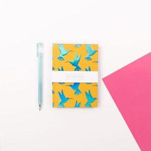 A6 Hummingbird Notebook - Wendy Jones Blackett, WJNBM02