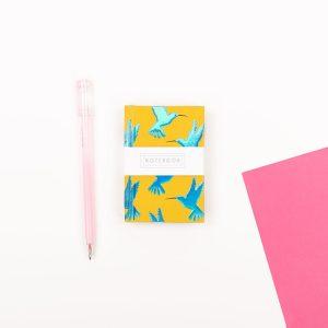 Mini Humming Bird Notebook - Wendy Jones Blackett, WJNBS02