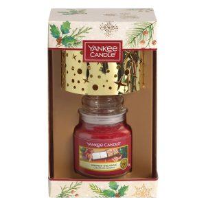 Yankee Candle Small Jar Candle & Small Shade Gift Set - Magical Christmas Morning