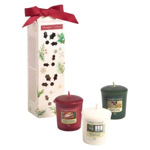 Yankee Candle 3 Votive Gift Set - Magical Christmas Morning
