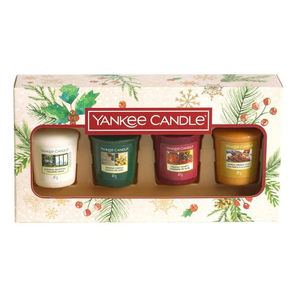 Yankee Candle 4 Votive Gift Set - Magical Christmas Morning
