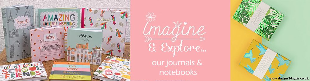 DESIGN 24 GIFTS SUMMER 2020 NOTEBOOKS BANNER