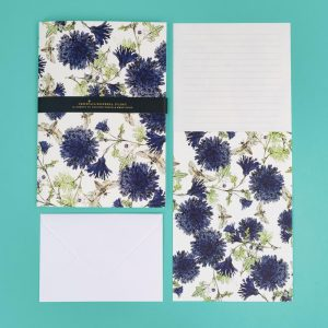Jessica Russell Flint Luxury Writing Set with Cornflowers and Moths - JRG03 - Soul UK