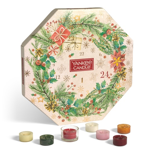 Yankee Candle Wreath Advent Calendar - Magical Christmas Morning