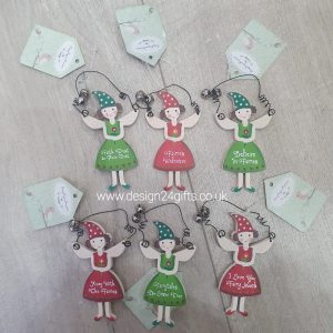 Small Woodland Fairy Hanging Plaque - Langs