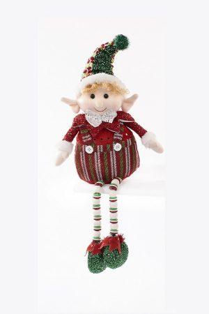 Langs Overshelf Elf on a Shelf with Dangly Legs - 43 x 23 x 8 cm