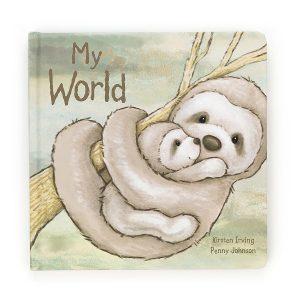 Sloth 'My World' Story Book - Jellycat