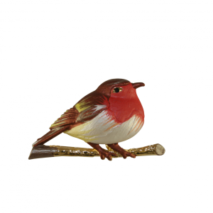 Rodney Homan Robin Brooch in Gift Box
