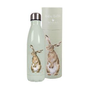 Hare Water Bottle - Wrendale Designs