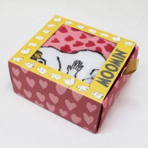 The Moomins Heart Print Socks - Moomin and Snorkmaiden - Disaster Designs