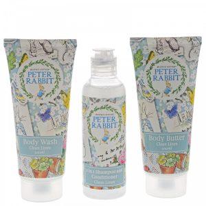 Peter Rabbit Clean Linen Gift Set - Beatrix Potter
