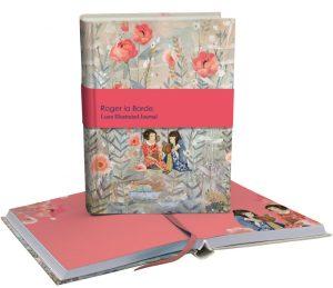 Daydreamers Luxe Illustrated Softback Journal - Roger La Borde