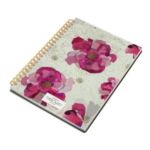 Turnowsky Pink Peony A6 Notebook