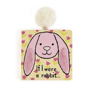 If I Were A Rabbit Board Book - Jellycat