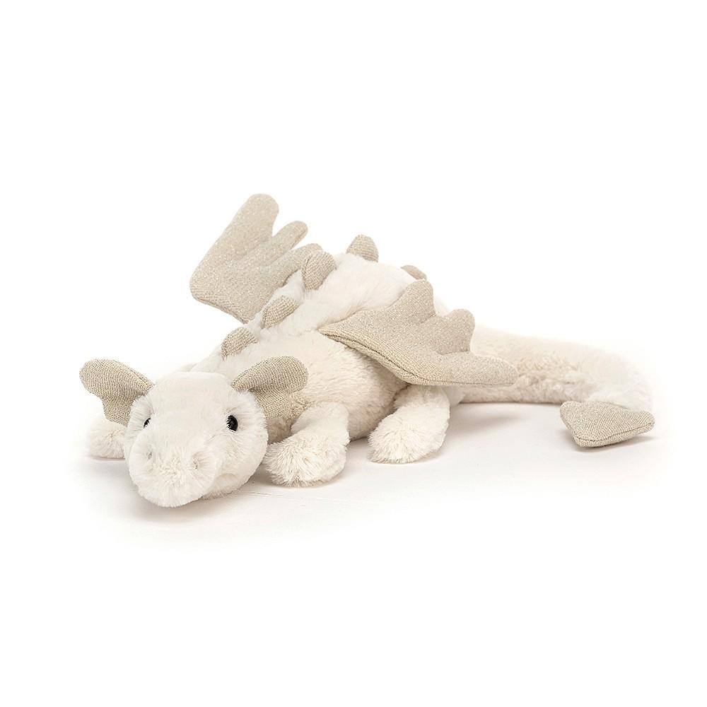 Jellycat Snow Dragon - Little 26 cm