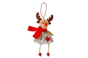 Reindeer Hanger with Bells - Langs