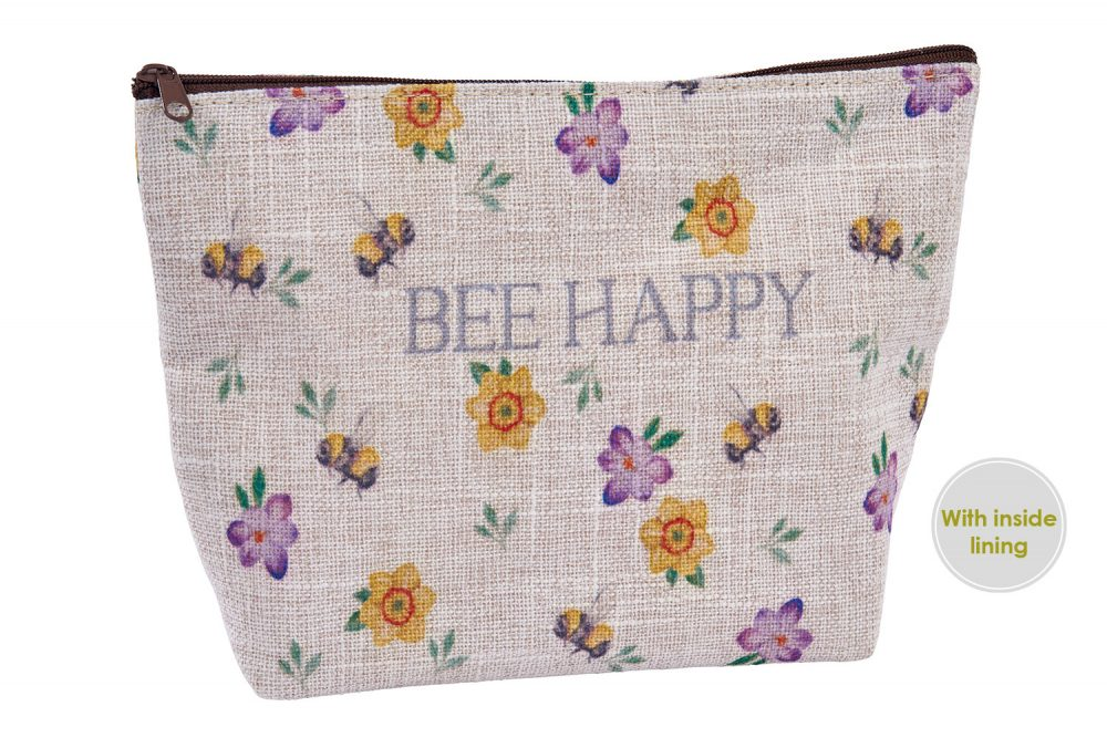 Bee Happy Pouch Bag - Langs