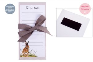 Woodland Hare Magnetic Shopping List Pad - Langs