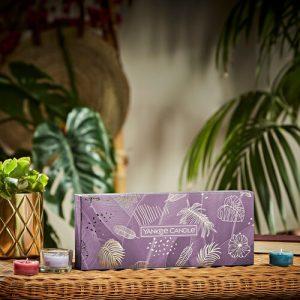 Yankee Candle 10 Tea Lights & 1 Holder Gift Set - Last Paradise