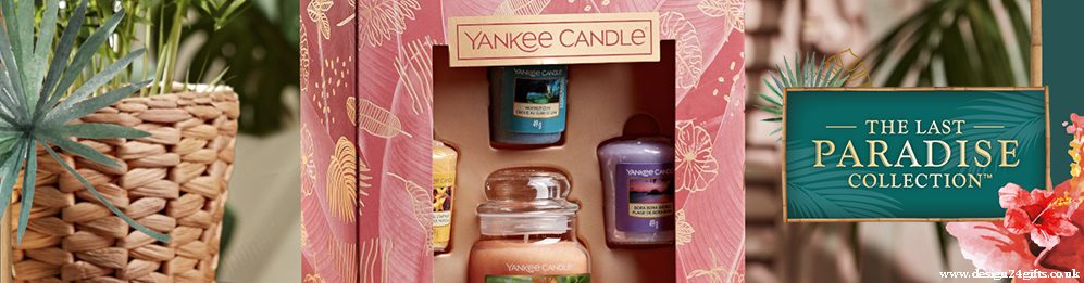 design 24 gifts yankee candle 2021 last paradise