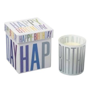 Happy Birthday Candle In Musical Box - Heaven Sends