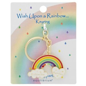 wish upon a rainbow keyring joe davies