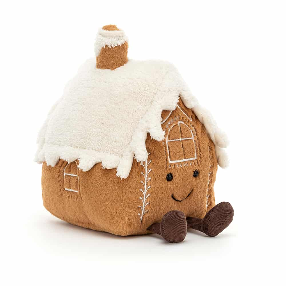 Jellycat Amuseable Gingerbread House - 20 x 16 cm