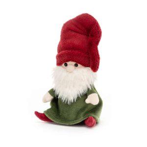 Jellycat Nisse Gnome Rudy, 15 x 8 cm