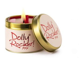 Lily-Flame Dolly Rocker Scented Candle Tin