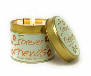 Lily-Flame Forever Friends Scented Candle Tin