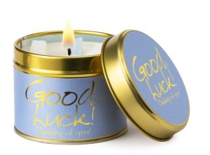 Lily-Flame Good Luck Scented Candle Tin