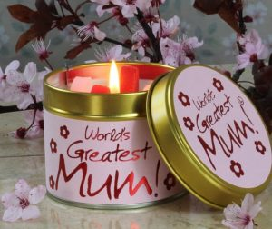 Lily-Flame World's Greatest Mum Scented Candle Tin