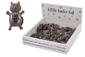 Little Lucky Cat Charm - Langs