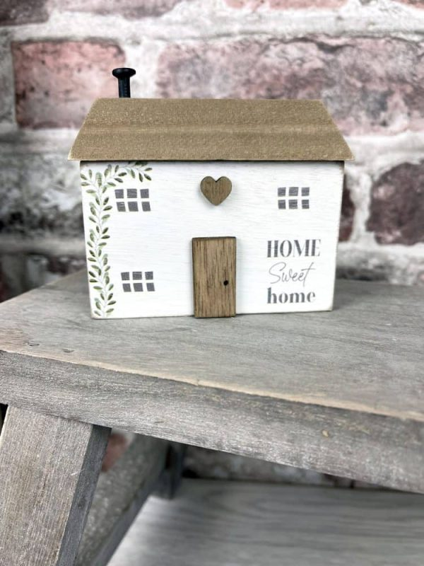 Home Sweet Home Wooden Block Ornament - Langs