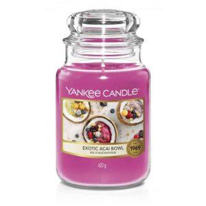 Yankee Candle Exotic Acai Bowl Classic Large Jar, 623g