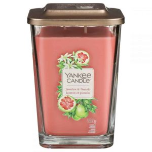 Yankee Candle Elevation Collection - Jasmine and Pomelo - Large 2-Wick Square Candle