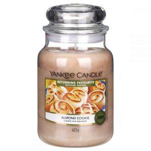 Yankee Candle Returning Favourites - Almond Cookie Large Jar, 623g