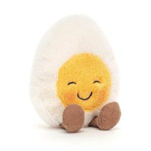 Jellycat Amuseable Blushing Boiled Egg, 14x8 cm