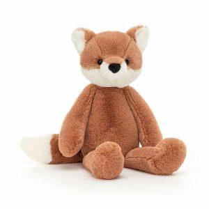 Jellycat Beckett Fox - Small, 25 x 12 cm