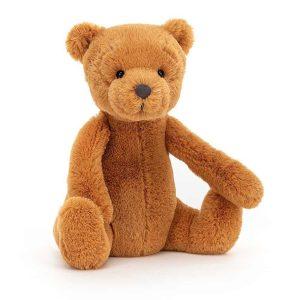 Jellycat Ginger Bear - Small, 17 x 14 cm