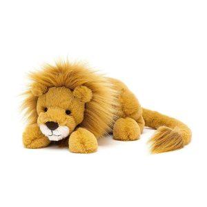 Jellycat Louie Lion - Little, 8 x 29 cm