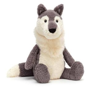 Jellycat Woodruff Wolf - 27 x 12 cm
