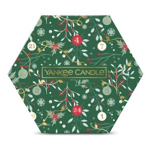 Yankee Candle 18 Tea Light Candle Delight Gift Set - Countdown to Christmas